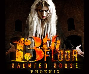Mesa haunted houses your guide to halloween in mesa for 13th floor haunted house phoenix